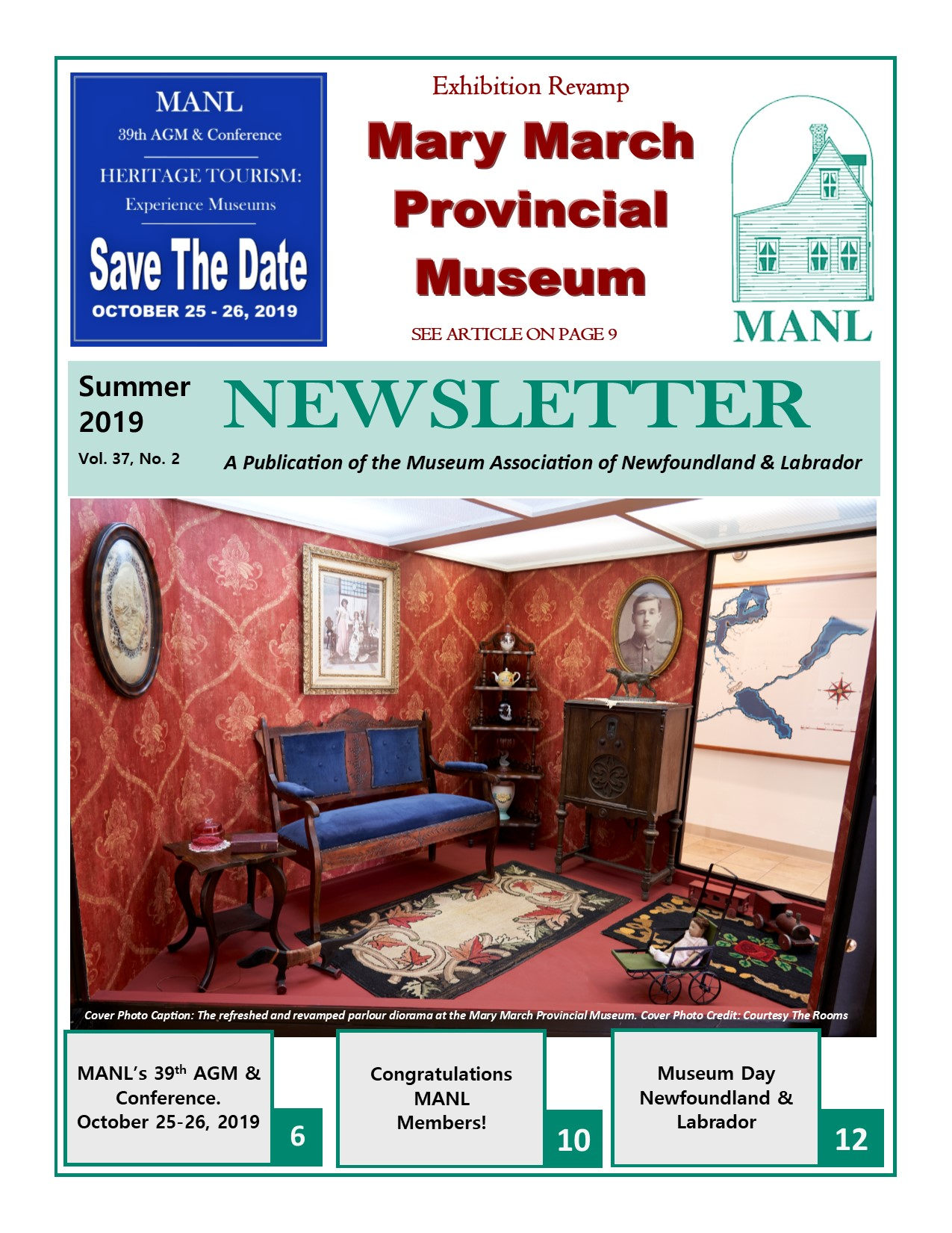 MANL Newsletter Cover Summer 2019