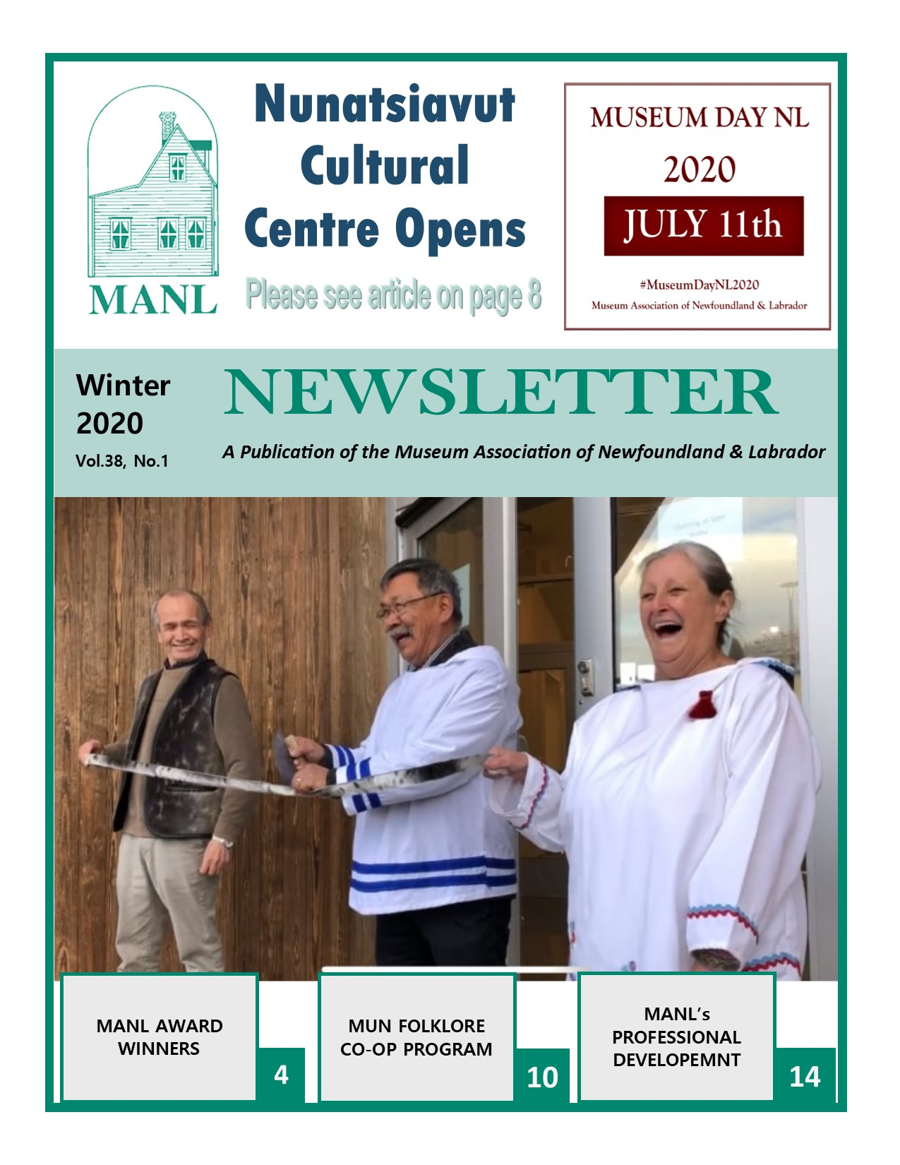 MANL Winter 2020 Newsletter jpeg